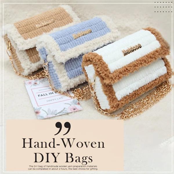DIY Hand-Woven Bags
