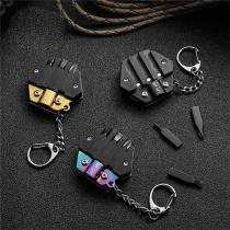 Coin Knife Hexagon Multifunction Screwdriver