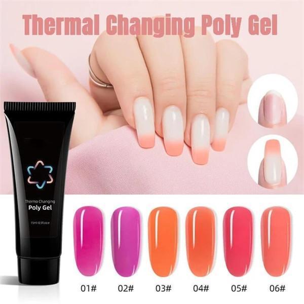 Thermal Changing Poly Gel