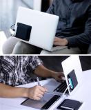 Adhesive Laptop Back Storage Bag