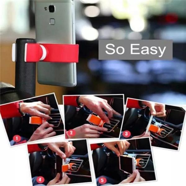Steering Wheel Car Air Outlet Car Phone Holder