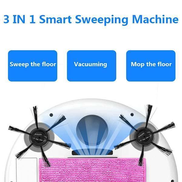 Hands-Free Dust Collecting Robotic Vacuum