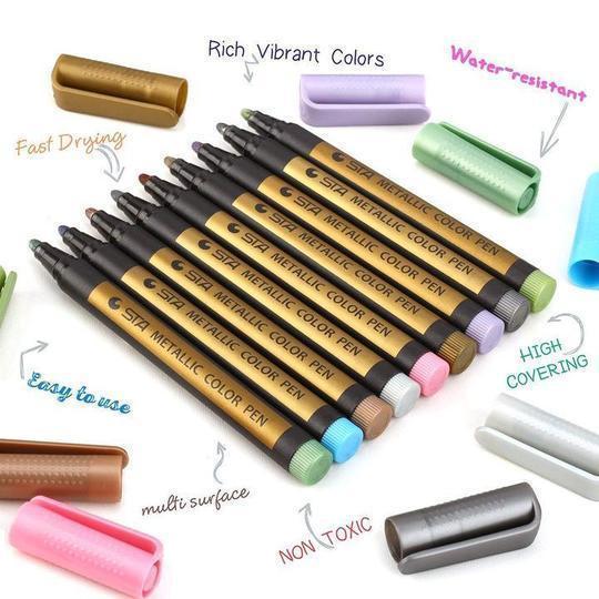 Waterproof Paint Marker Pen(10-color suit)