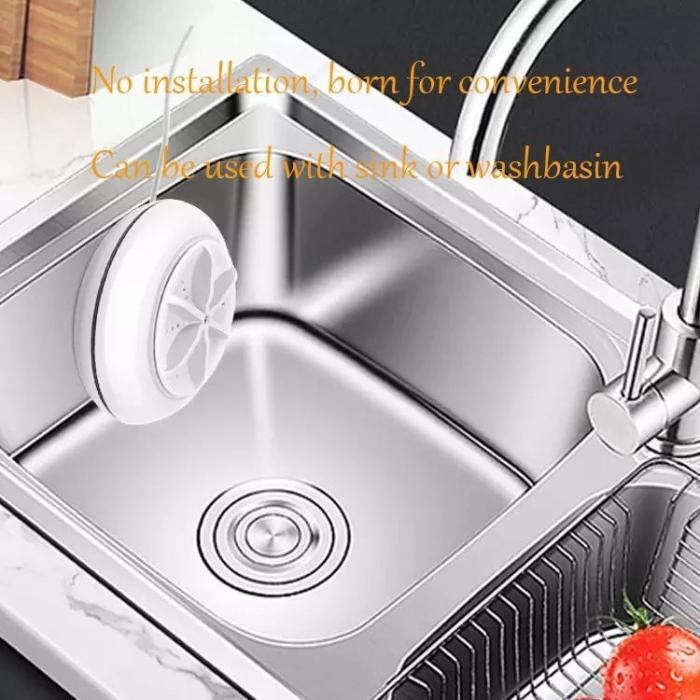 Portable Ultrasonic Washing Machines