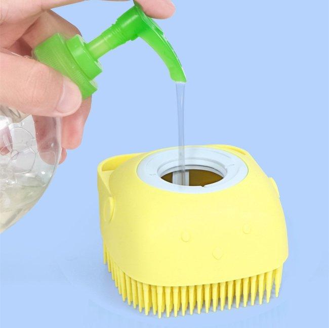 Exfoliating Eco-friendly Soft Massage Silicone Bath Brush