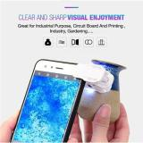 60X Universal Clip-on LED Cell Phone Microscope