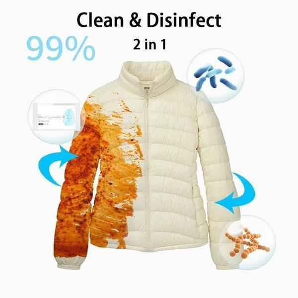 Down Coat Wash-free Cleaning Wipes