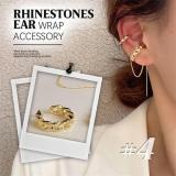 Rhinestones Ear Wrap Accessory