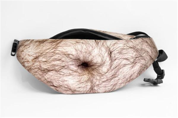 3D Men Beer Belly Waist Packs Dad Bag Funny Gifts