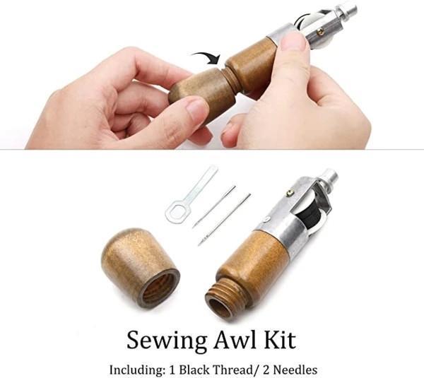 Leathercraft Sewing Stitching Awl Needle Tool