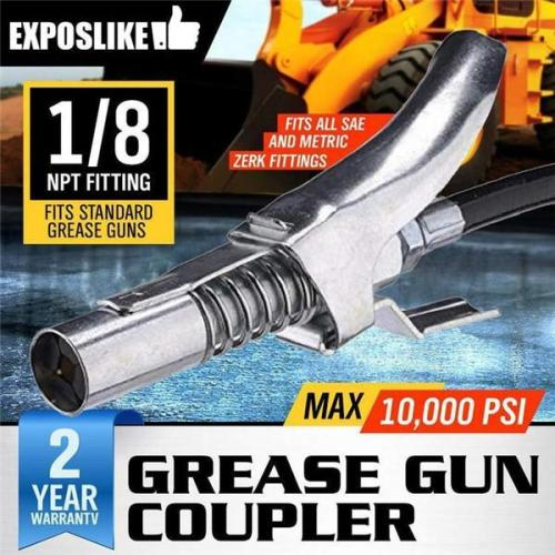 Ez-Pz Lube 10kPSI Lock Grease Coupler