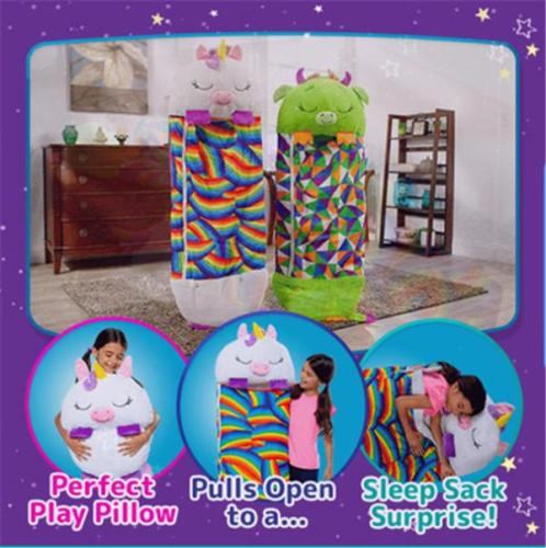 Happy Nappers | Play Pillow & Sleep Sack Surprise
