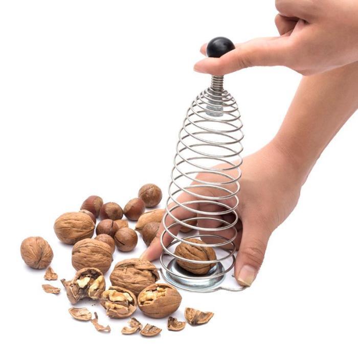 Spiral Spring Assisted Nutcracker