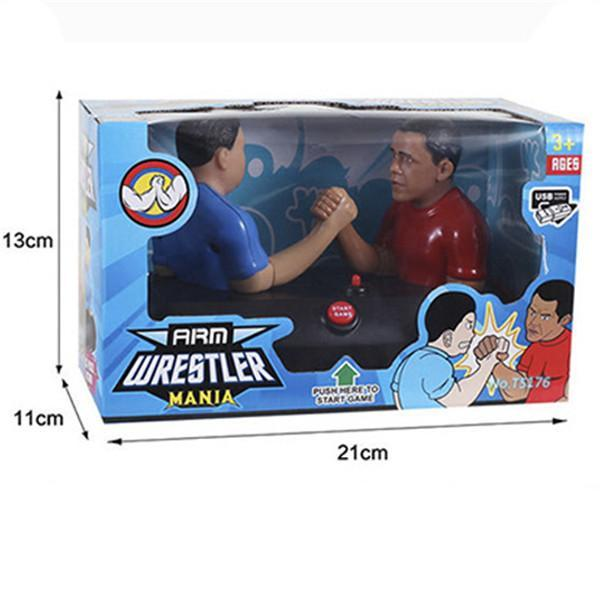 Arm Wrestle Mania Battle Realistic Sound Electronic Wrestling Game Board Game Pop Toy