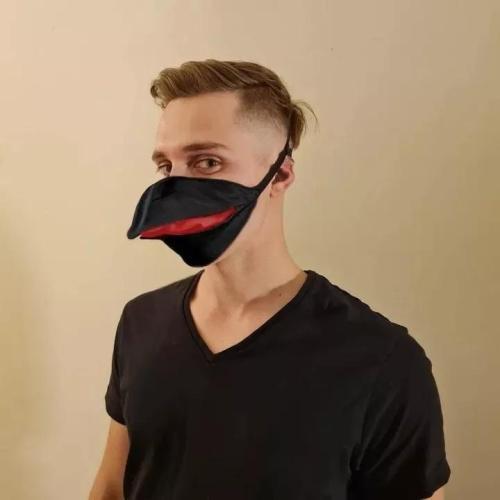 Talking Bird Cloth Mask
