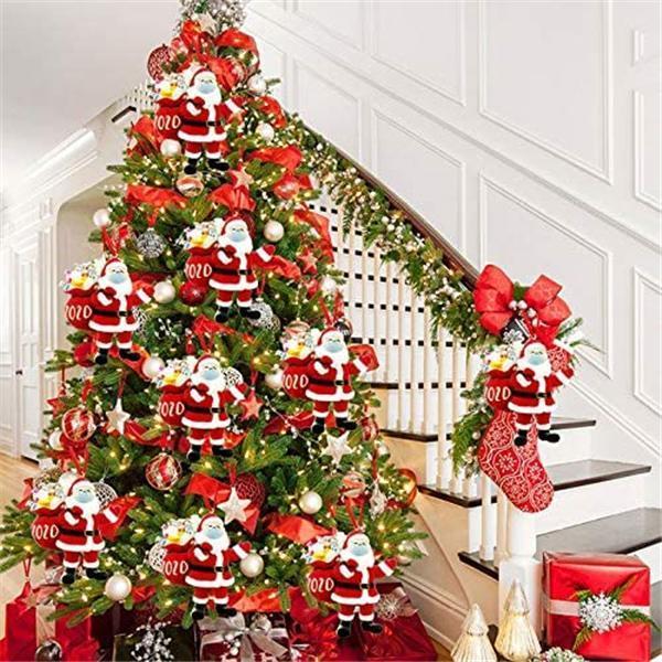 🎄2020 Santa Claus Keepsake Ornament Christmas tree pendant