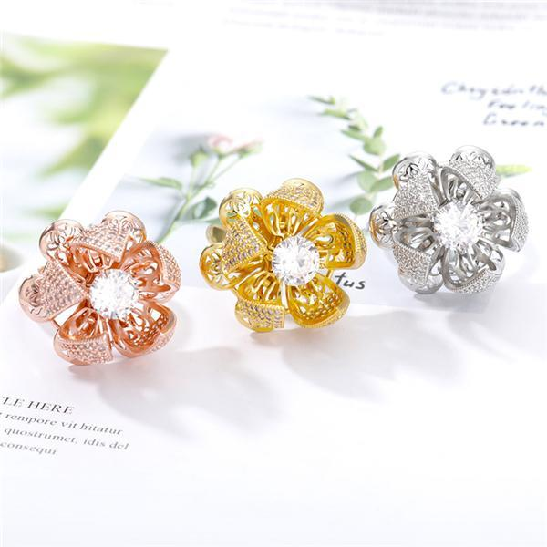 Flocaw Adjustable Flower Blooming Ring