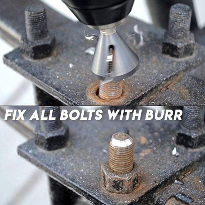Stainless Steel Deburring Tool