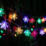 Snowflake String Lights