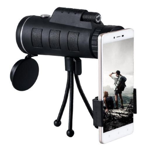 40x60 HD Monocular Telescope Phone Attachment
