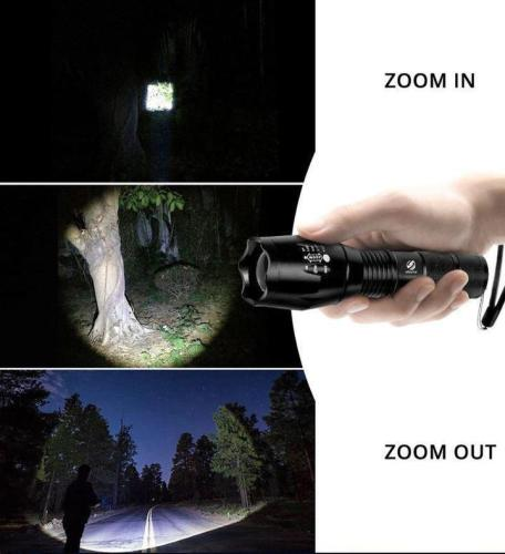 High-Powered Tactical Flashlight