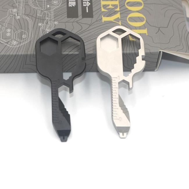 24 in 1 Key shaped pocket tool