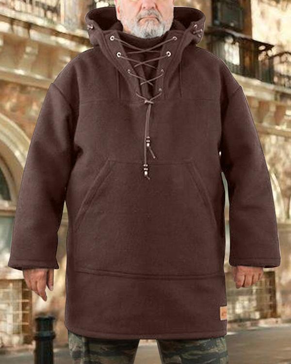 Casual Woolen Men's Trendy Coat -BUY TWO FREE SHIPPING