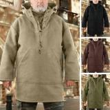 Casual Woolen Men's Trendy Coat -BUY TWO FREE SHIPPING