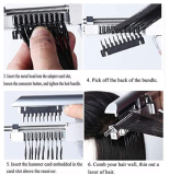 Second-Generation Hair Extension Tools