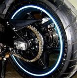 Reflective sticker on wheel hub(16PCS)