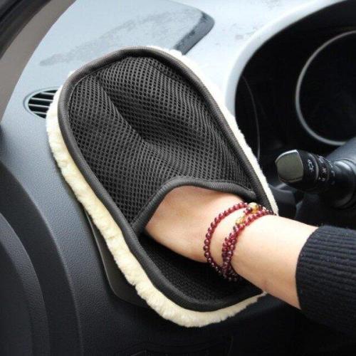 Car Soft Care Washing Polishing Cleaning Gloves(3PCS)