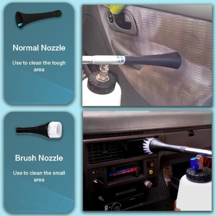 Turbo Car Interior Cleaner (2020 Upgraded)