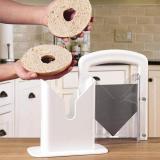 Portable Removable Bread Bagel Guillotine Slicer