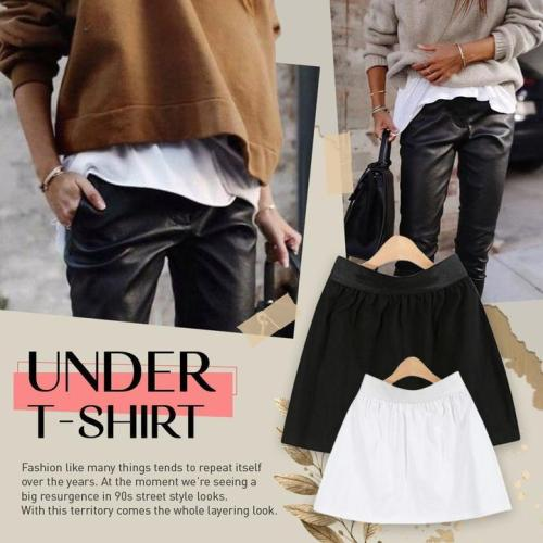 Mini Skirt Shirt Extenders