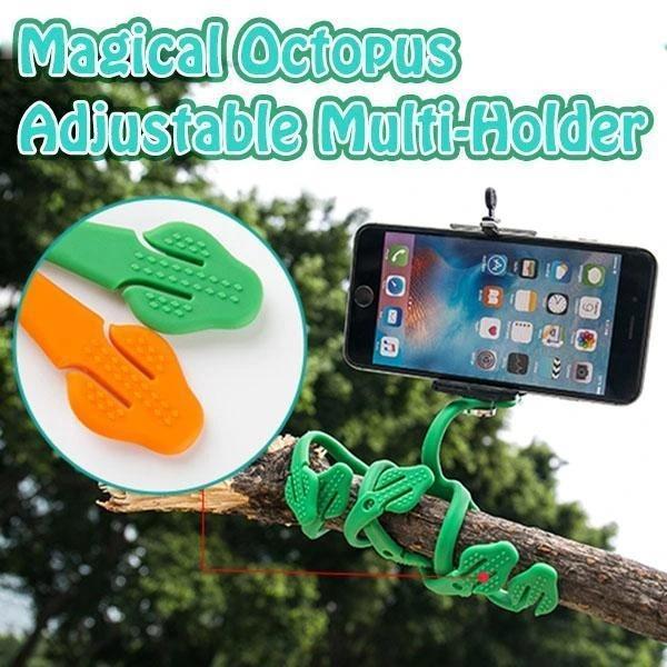 Magical Octopus Adjustable Multi-Holder