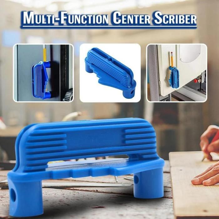 Multi-Function Center Scriber Marking Tool