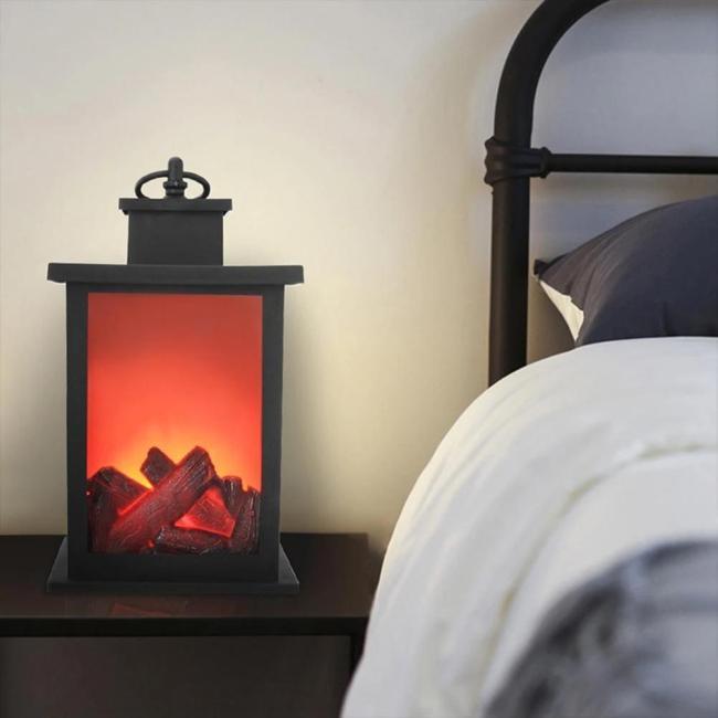 Flameless Fireplace Light
