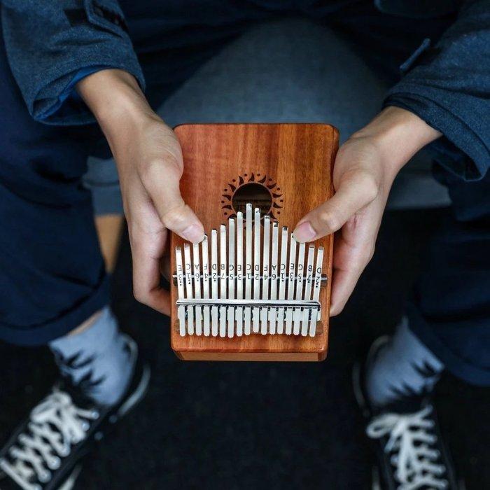 The Thumb Piano Portable Kalimba ( 8 Keys/17Keys )