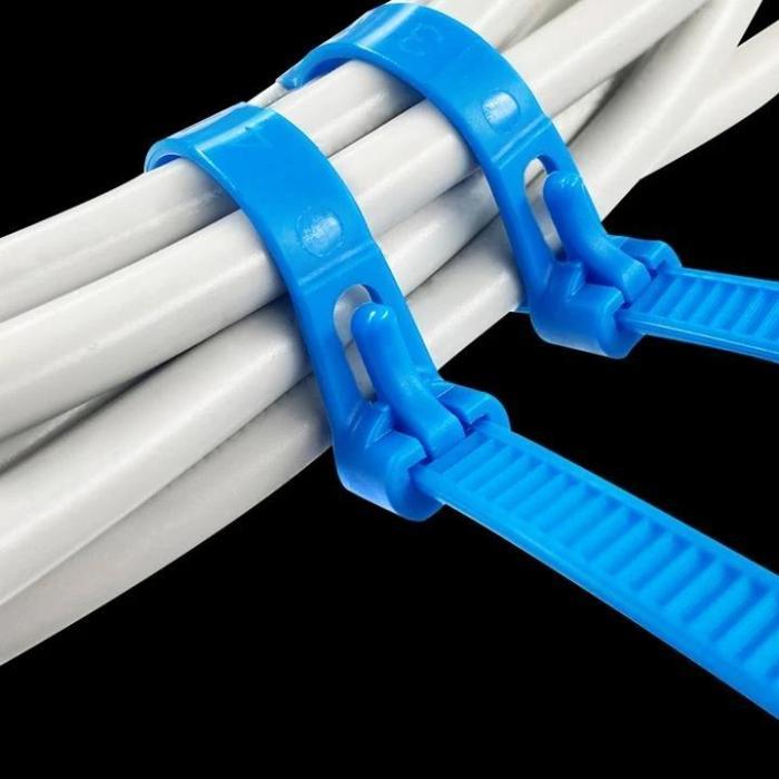 Releasable Cable Tie Strap (100PCS)
