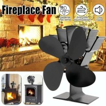 Eco 4 Blade Heat Powered Stove Fan