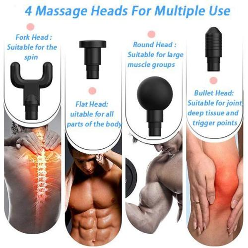 Handheld Deep Muscle Fascia Massage Gun