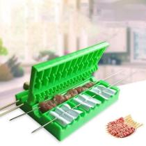 BBQ Meat Skewers Machine