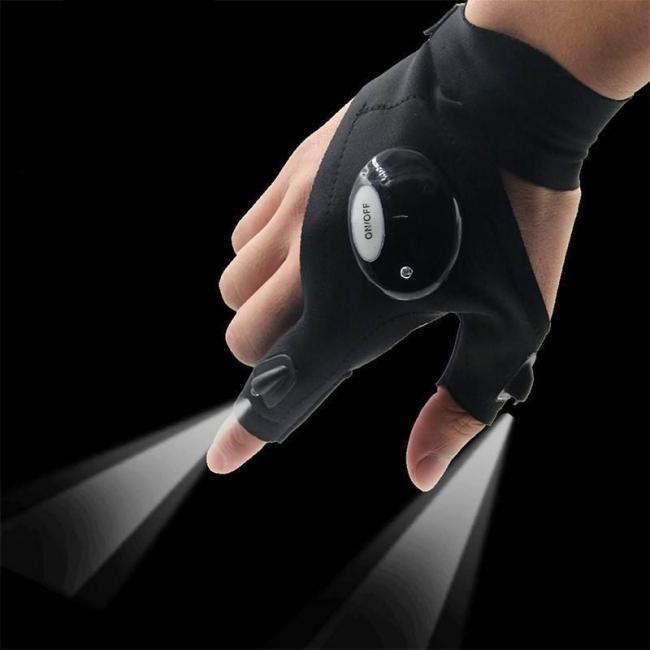 LED Flashlight Glove ( 1 Pair )