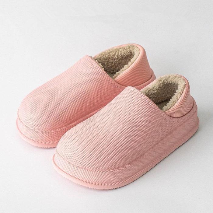 Waterproof Non-Slip Winter Home Slippers