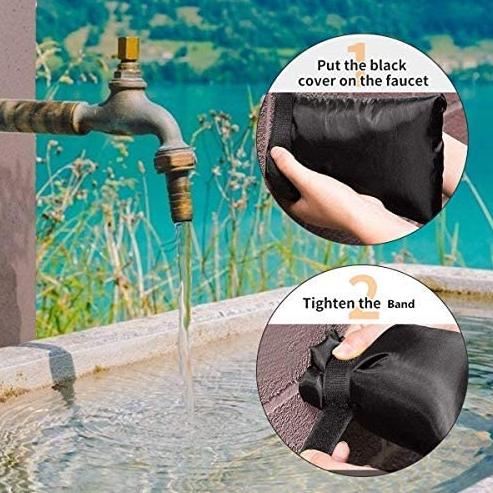 Garden Faucet Covers Antifreeze Protective Cover ( 2PCS )