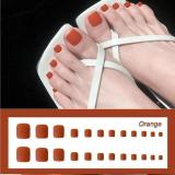 1min Style Change Reusable Wearing Manicure Fake Toenails