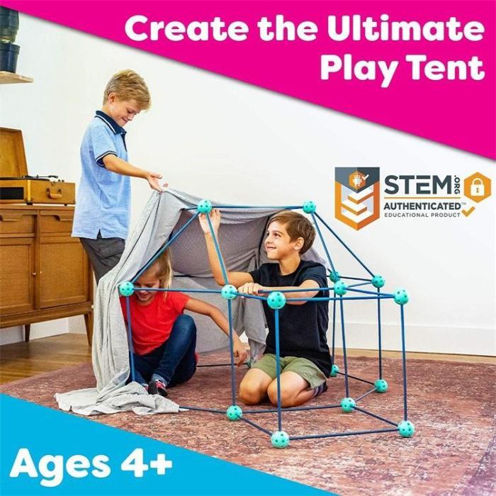 Fort Building Kit For Kids