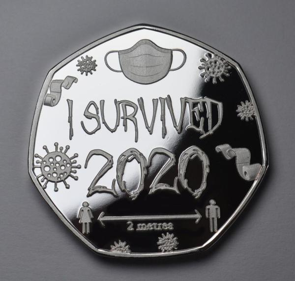 'I SURVIVED 2020'  Special Commemorative Coin