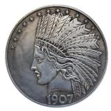 Hand Carved Coins