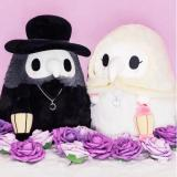 Fluffy Plague Doctor Plush Toy